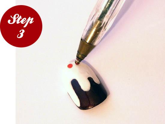 nail art step three