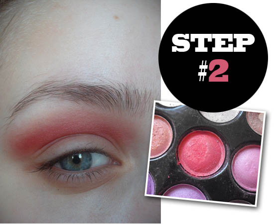 sunset eyes tutorial step 2