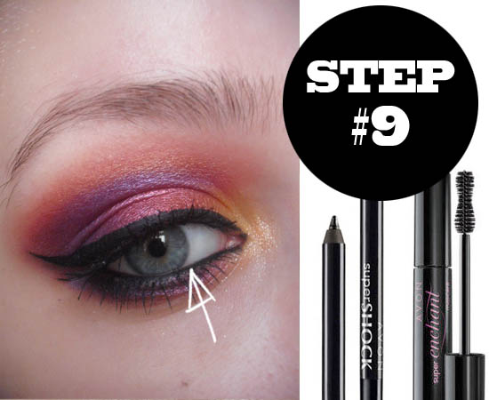 sunset eyes tutorial step 9