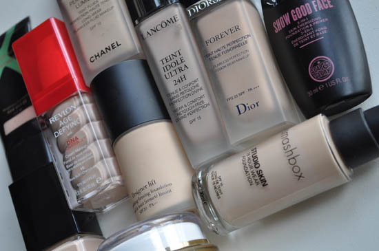 pale foundations