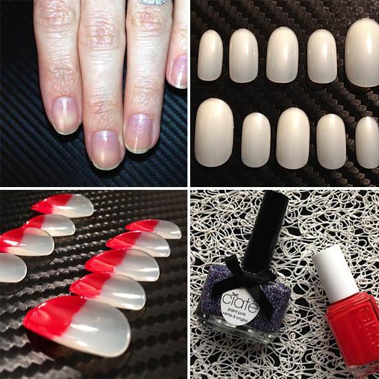 adele nail tutorial step 1