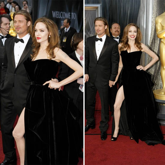 angelina jolie and THAT leg