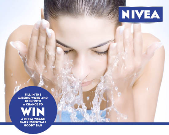 nivea cleansing