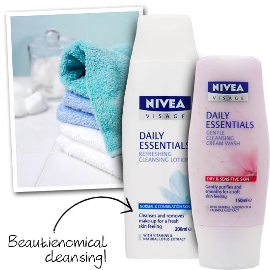 nivea cleansing products