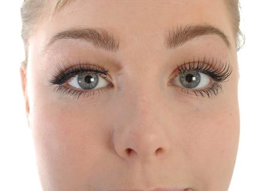 false lashes final result