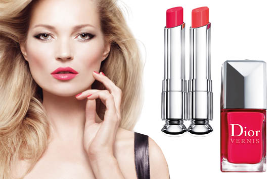 dior addict extreme range with kate moss