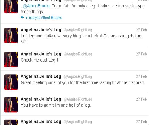 anglie's legs twitter