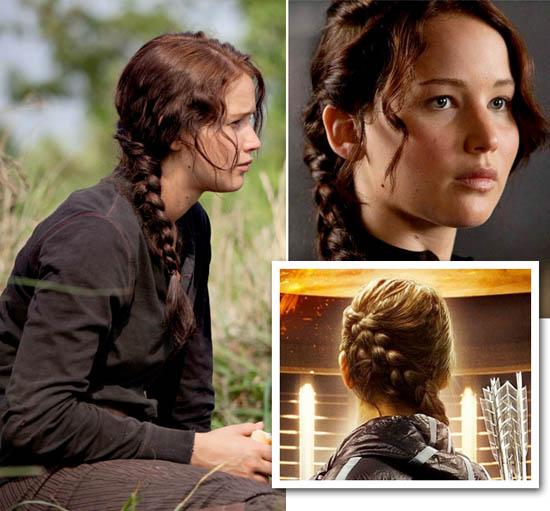 Katniss' braids