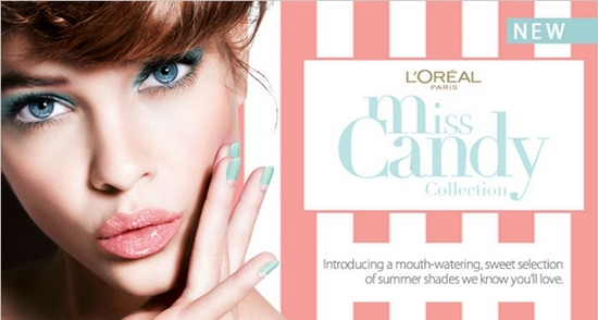 L'Oreal Miss Candy Collection