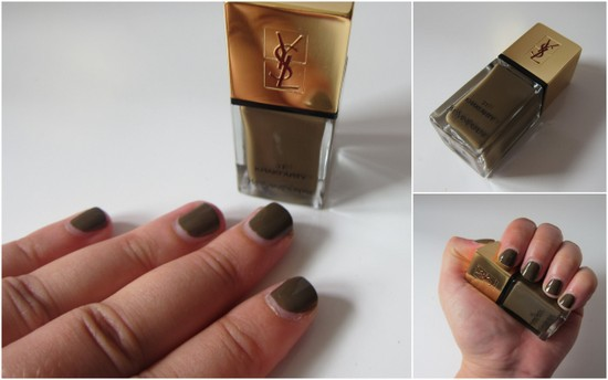 Khaki Arty YSL nail polish