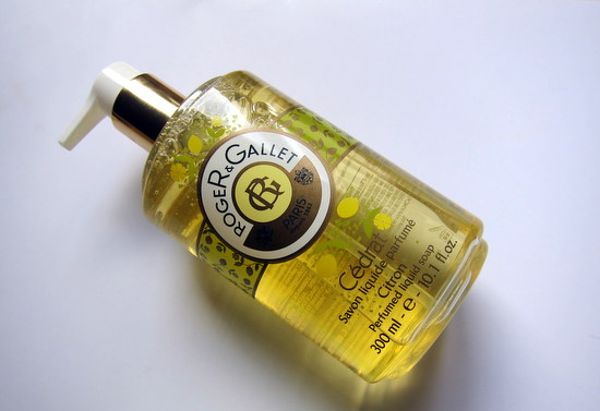 Roger & Gallet Citron Liquid soap