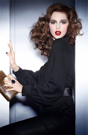 YSL AW12 Contemporary Amazon campaign shot