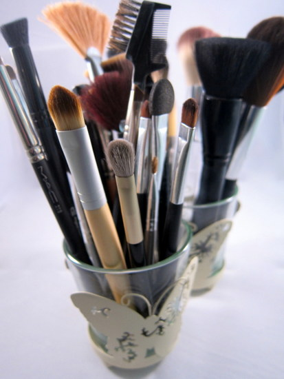 make up brush collection