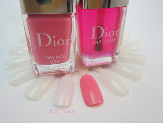 Dior Cherie Bow Vernis Rosy Bow and Nail Glow