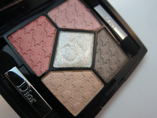 Dior Cherie Bow 5 Couleurs Palette Rose Ballerine