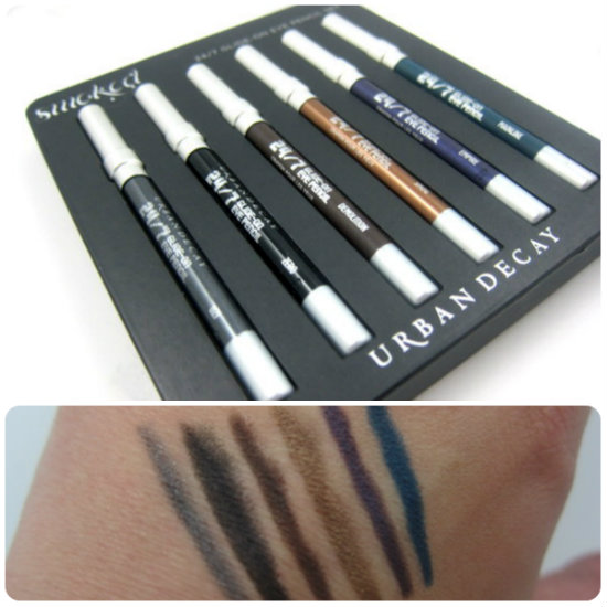 Urban Decay Smoked 247 Glide On Eye Pencil Set