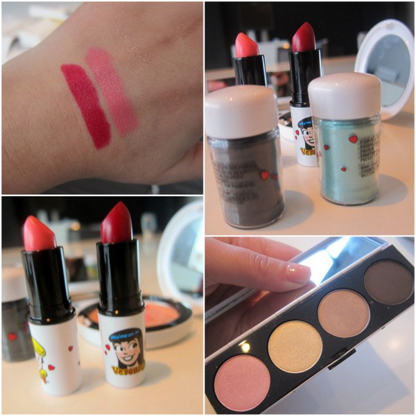 MAC Archie's Girls Swatches