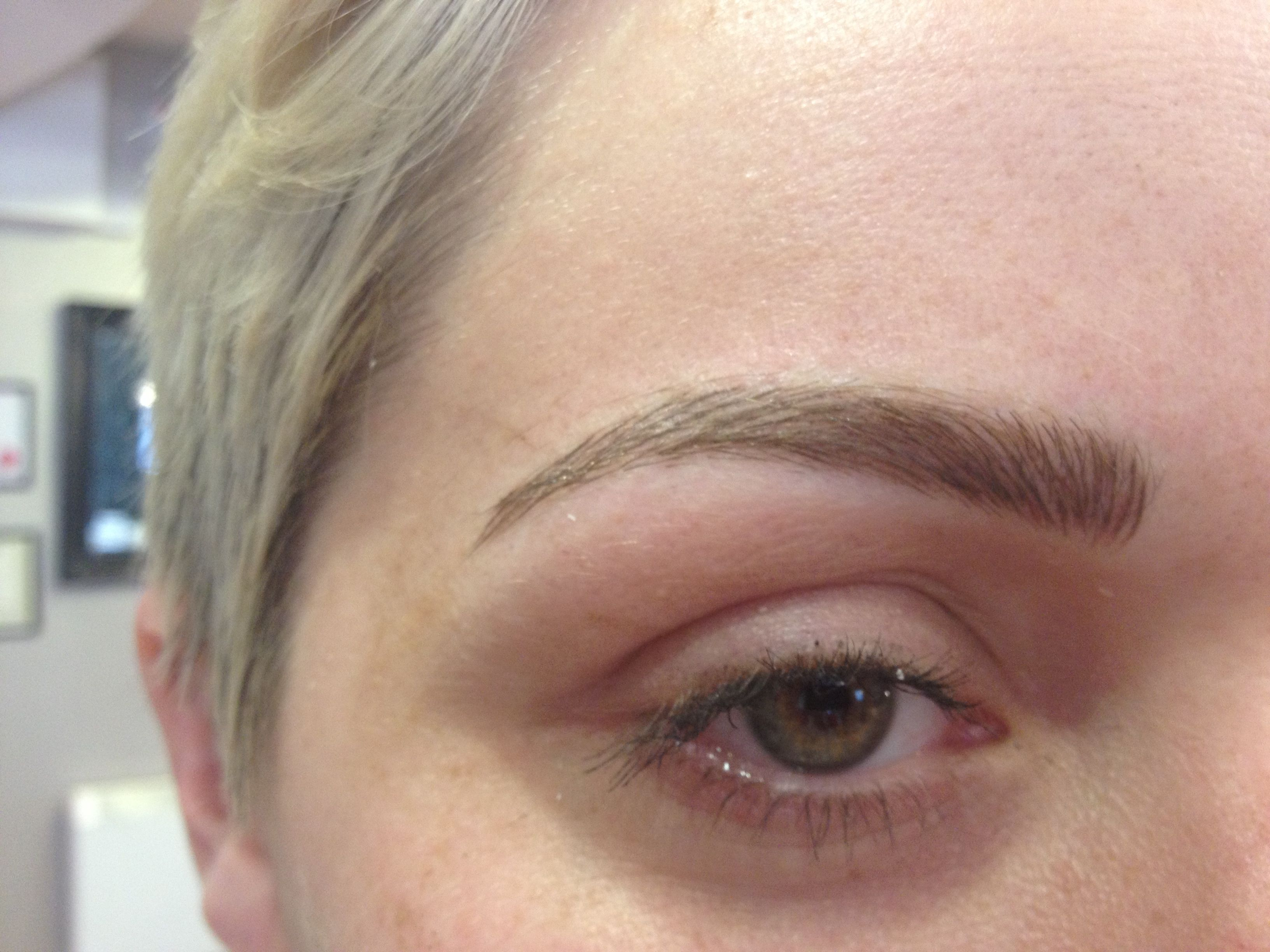 Semi permanent brow tattoo embrowdery tried and tested for Natural eyebrow tattoo