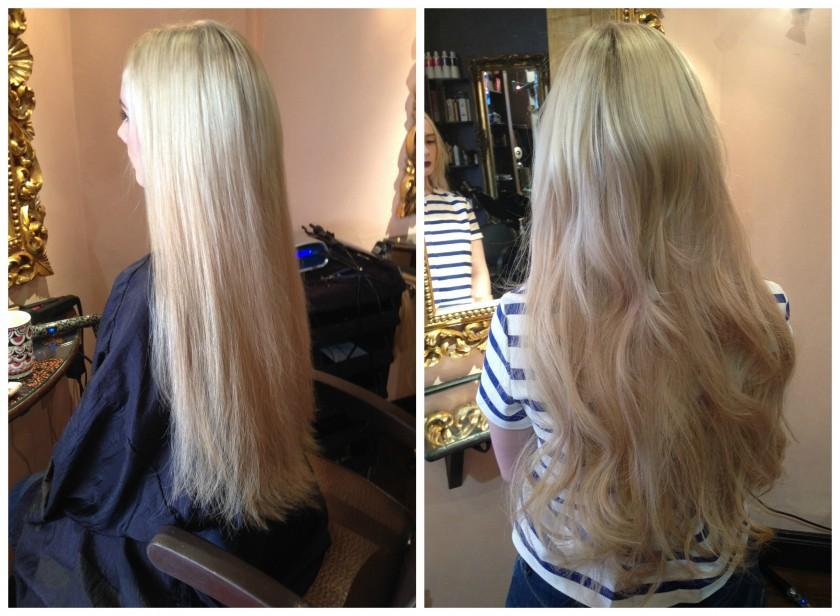 New Great Lengths Hair Extensions After Removal