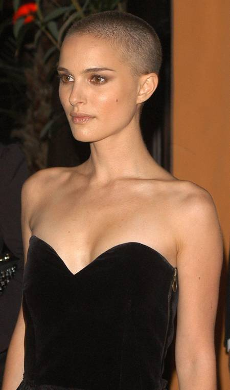 Simply head natalie picture portman shaved