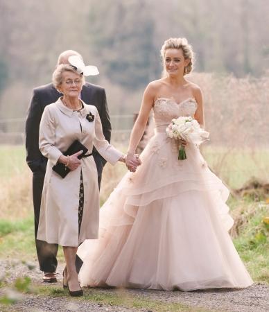 Top ten blush wedding dresses 2014s biggest bridal trend more images junglespirit Choice Image
