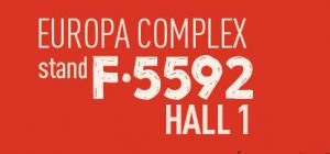 A graphic of the PLMA hall number for Casa Tarradellas.