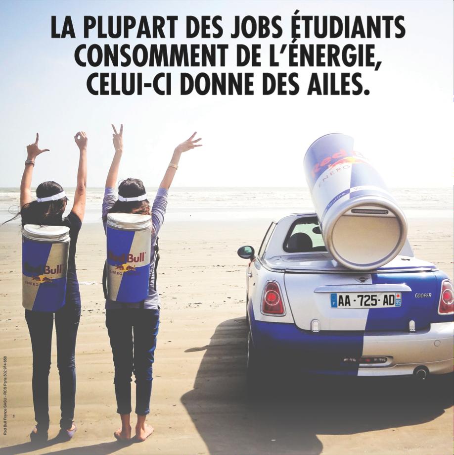 Red Bull Recrute toute l'année, dans toute la France — Jobetudiant