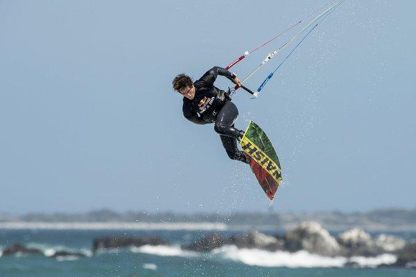 Jesse richman kitesurf