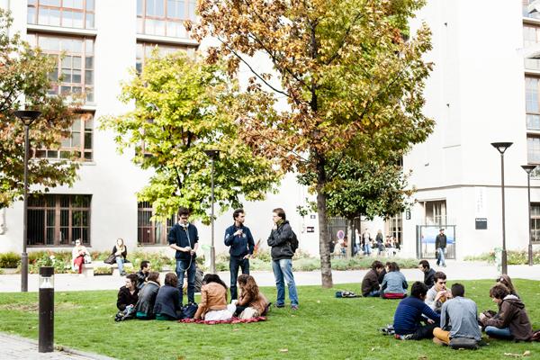 Etudiants jardin 281362