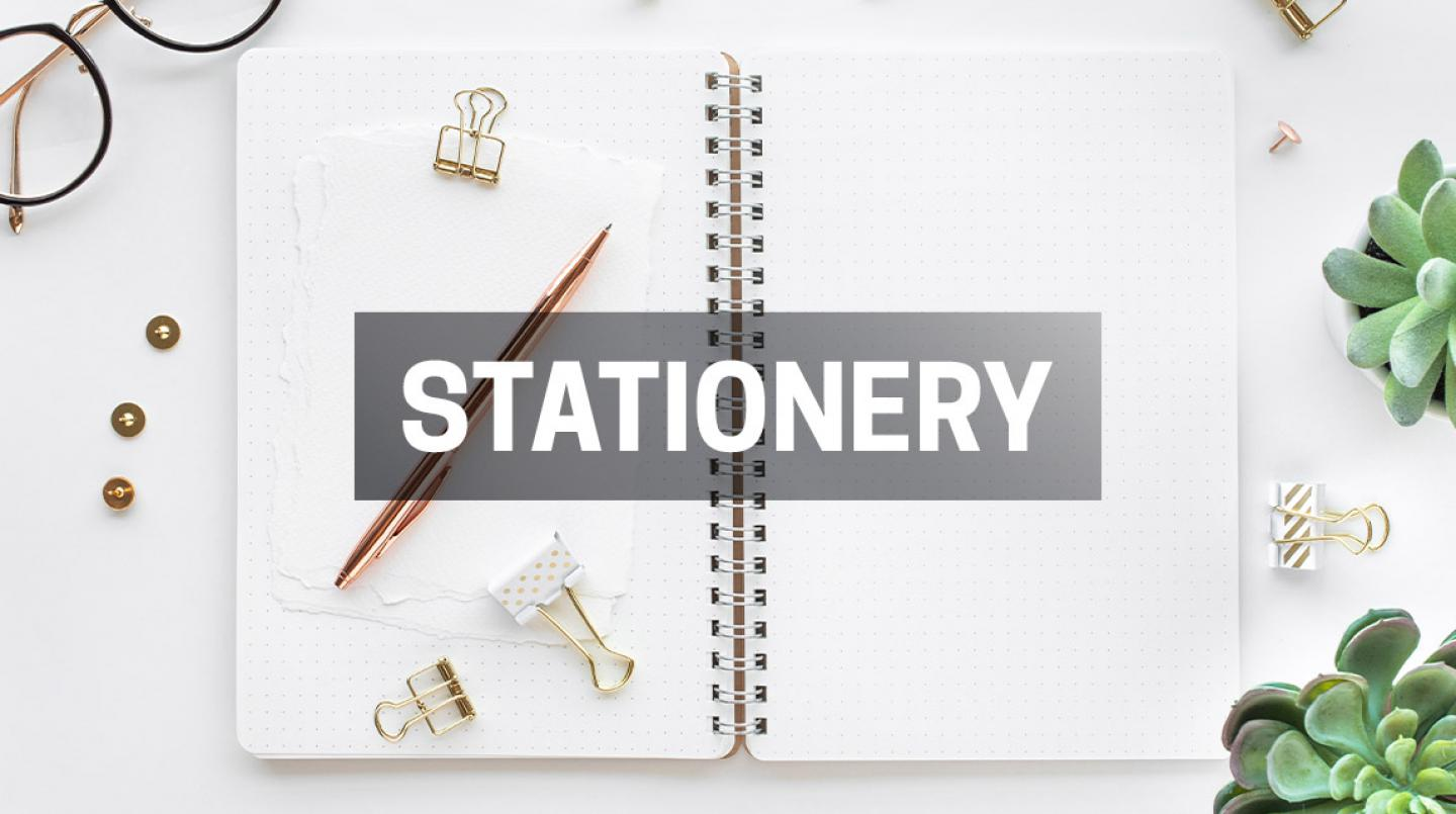 Shop Stationary