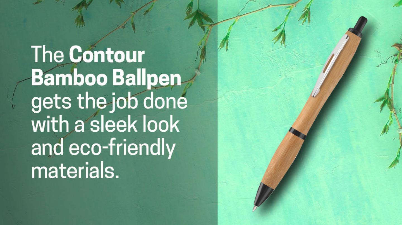 Contour Bamboo Pen