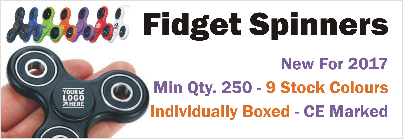 Printed Fidget Spinners