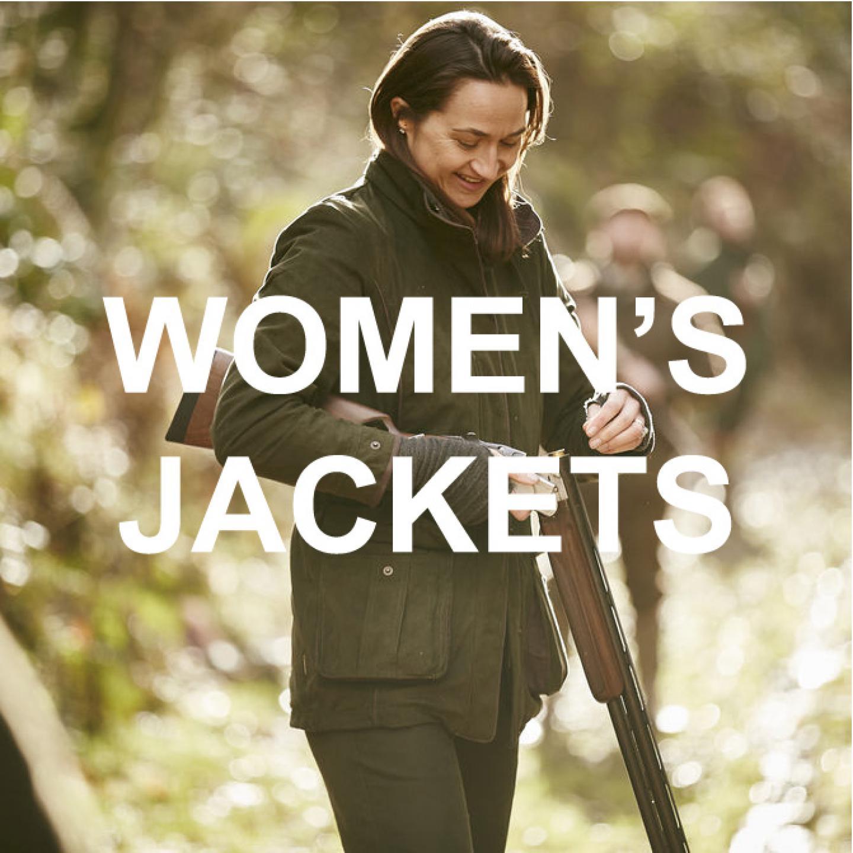 Ladies jacket banner