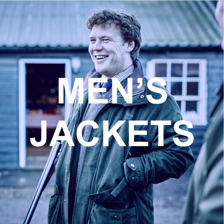 Mens jacket banner
