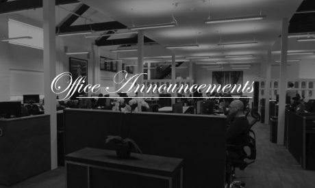 Office Announcements
