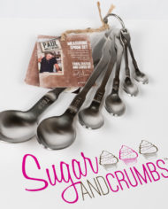 Paul Hollywood – Set of Six Stainless Steel Measuring Spoons
