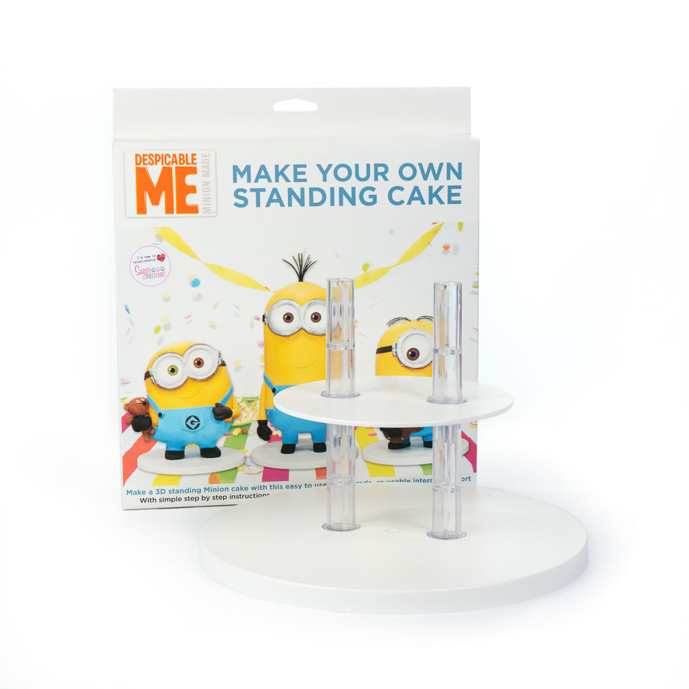 Cake Decorating Airbrush Kit Reviews Uk : CAKE FRAME - Minion Kit - Sugar and Crumbs