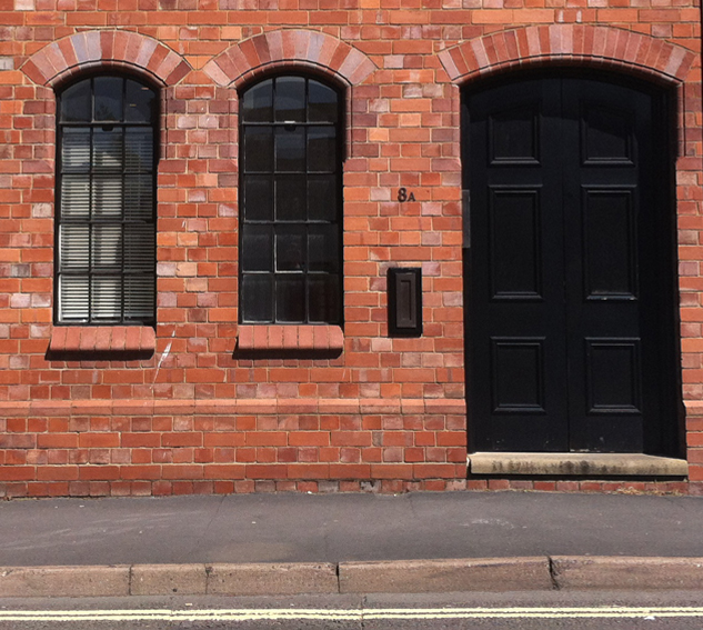 The outside of 8a Legge Lane, Jewellery Quarter, Birmingham