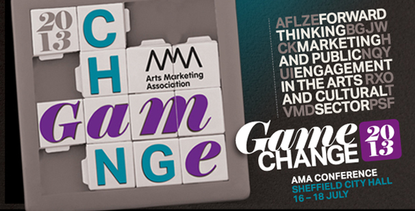 AMA Conference 2013 website header – Game Change