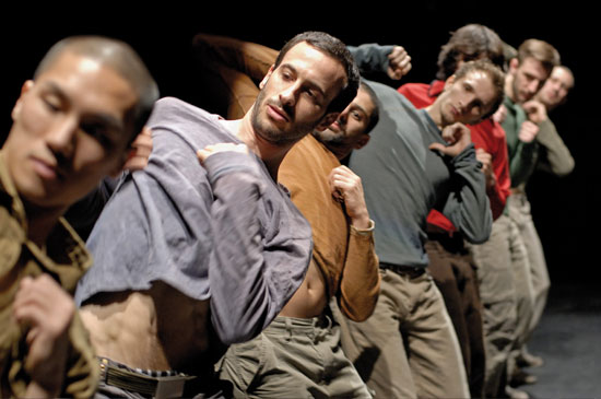 Photo of Hofesh Shechter's Uprising by Andrew Lang