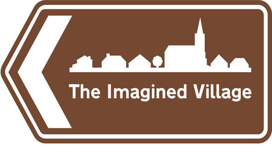 The Imagined Village logo - styled like a directional street sign