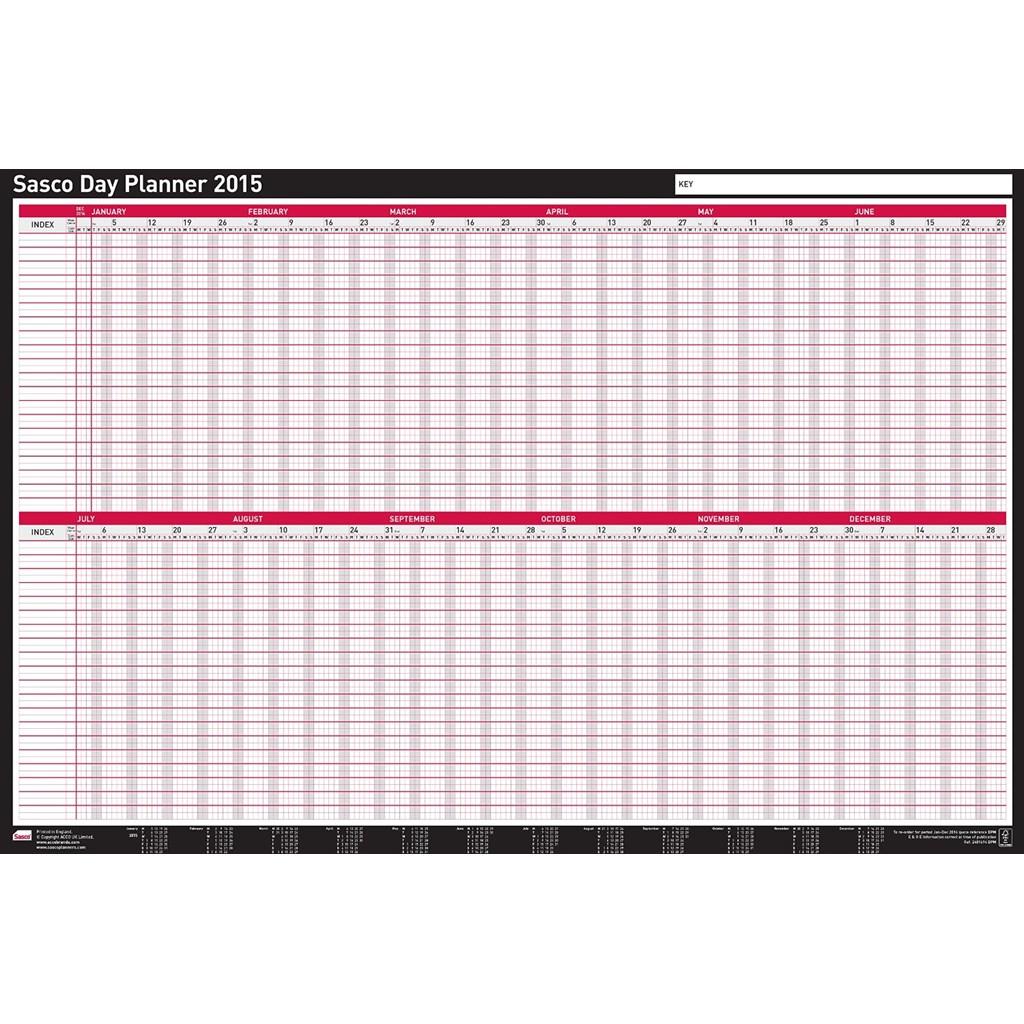 Calendar Planner Board : Sasco board wall mounted day year planner staff calendar