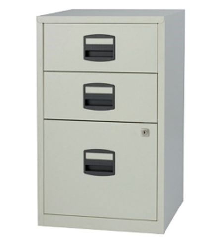 Bisley Home Office A4 Metal Filing Cabinet 2 / 3 Drawer, Colour ...