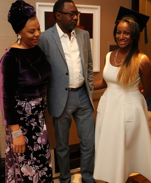 Femi Otedola's First daughter, DJ Cuppy Graduates From London College