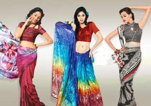 Indian Saree Fabrics