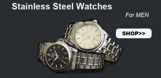 Stainless Steel Watc