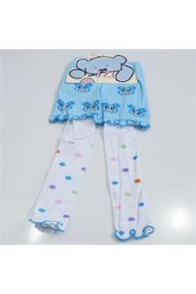 JZL Blue White Girls Skirt & Leggings