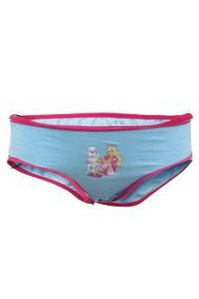 Blue/Pink Girls Pant wt Barbie Design 1-