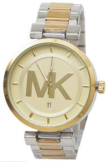 Michael Kors Silver Gold Men Watch