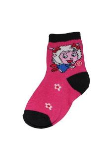 Pink/Black Kids socks